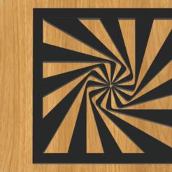 Descargar archivos STL Marco de ilusión óptica Psyche, imagin3D
