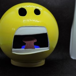 Download 3D printing templates smiley nightlight decoration smiley, imagin3D