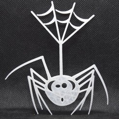 3D print files spider halloween wall decoration, darkunu
