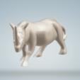 Download 3D printing templates Rhinoceros statue, imagin3D