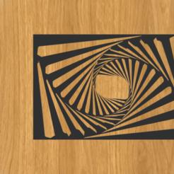 Télécharger fichier impression 3D Cadre illusion d'optique 3d, imagin3D