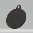 3D printer models keychain meditation ying yang yang, darkunu