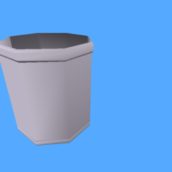 Download 3D printer designs OctaPlant Pot, PaDeStract