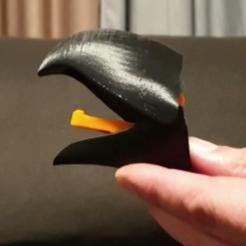 Télécharger fichier impression 3D PORTE-MANTEAU À BEC DE PERROQUET, mmalia017