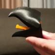 Download 3D printer designs PARROT'S BEAK COAT RACK, mmalia017