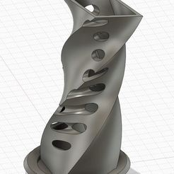 vase shark v1.JPG Download STL file Vase design shark • Template to 3D print, sharkyiv