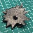 Download free 3D model Witcher Wolf School Medallion fridge magnet, fezz