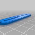 Download free STL file Keychain brelok ***** *** • 3D printable model, fezz