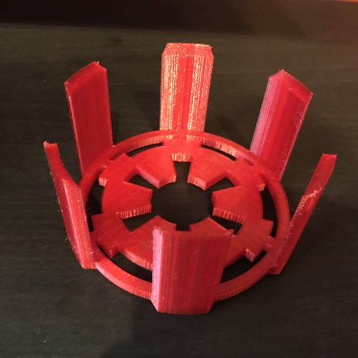 Download free STL file Galactic Empire coaster holder • Design to 3D print, fezz