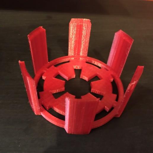 Télécharger modèle 3D gratuit Support de sous-verre Empire Galactique, fezz