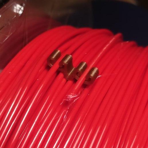 Download free STL Dual 1.75 filament clip, fezz