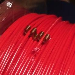 Descargar diseños 3D gratis Clip doble de filamento 1.75, fezz