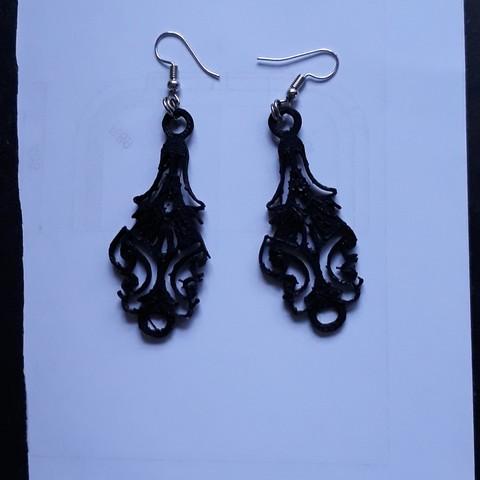 3D printer files earrings filegrain, Toos