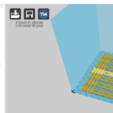 cura.png Download STL file Surical mask strap • Design to 3D print, Toos