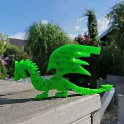 Download 3D printing files Dragon Flex, Toos