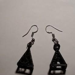Download 3D printer model earrings filegrain, Toos