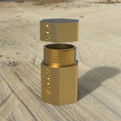 Descargar modelo 3D caja de palillos, michoko