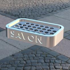 porte_savoncoul.jpg Download free STL file Soap holder • 3D printable template, michoko
