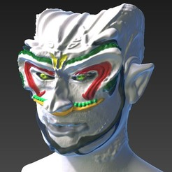 Fichier STL gratuit Demon buste, michoko