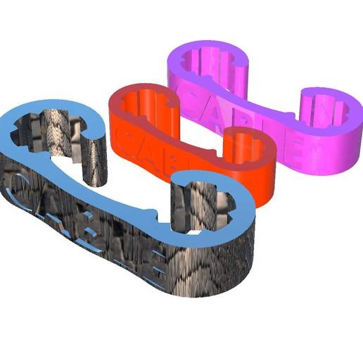 Descargar modelos 3D gratis Cable de clip Almacenamiento, michoko