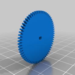 K110_PignonV5.png Télécharger fichier STL gratuit XK K110 Couronne • Plan pour imprimante 3D, Tom_as