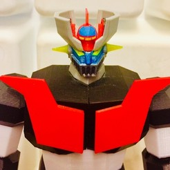 Plan 3D Low Poly Mazinger Z v2, orso76