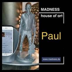 45F06B67-DF08-497C-B48C-F93F42E88463.jpeg Télécharger fichier STL gratuit Paul pour le smartphone • Plan imprimable en 3D, formenmacher