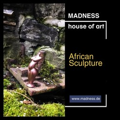 Download free STL African sculpture, formenmacher