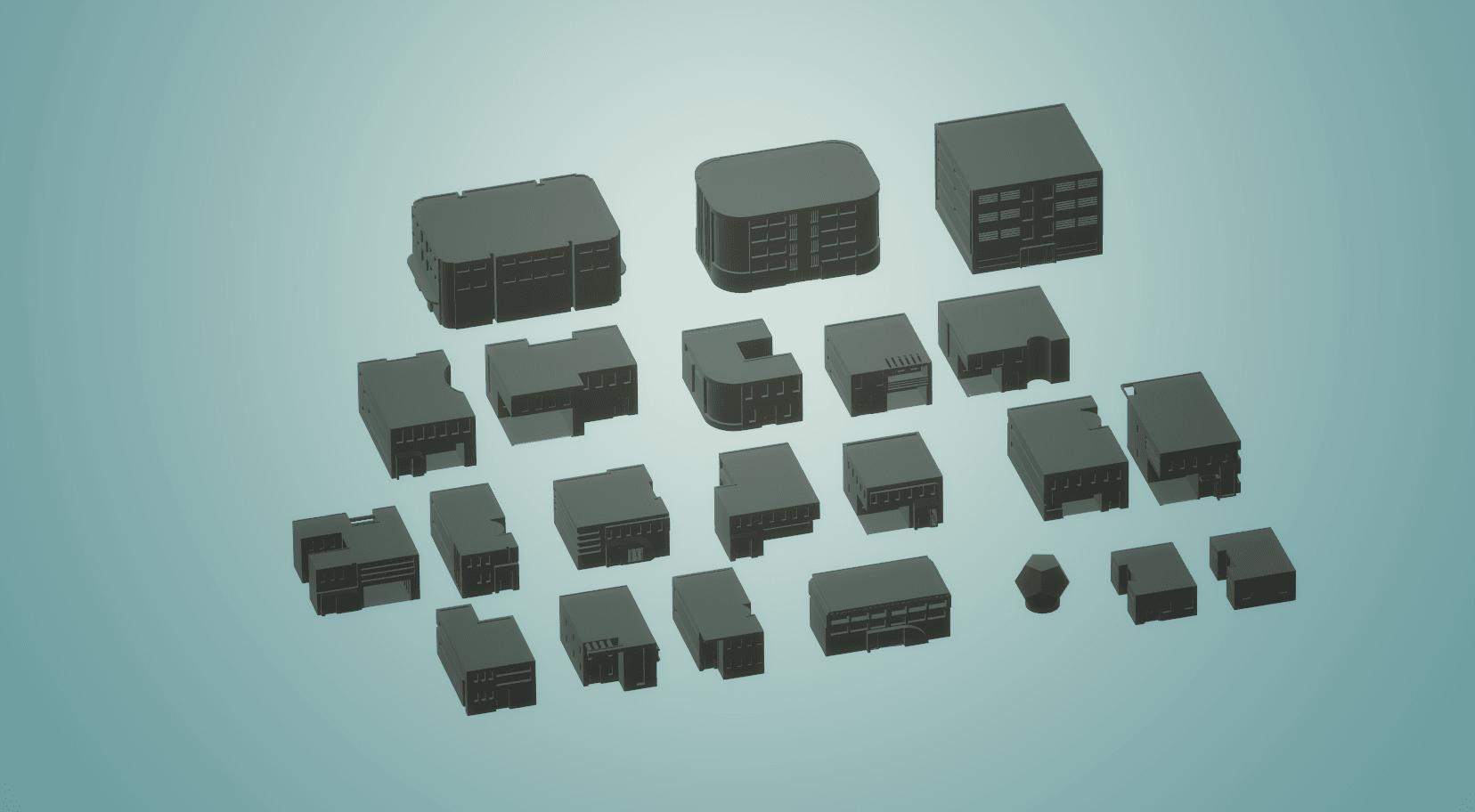 scifi.png Download STL file Battletech 3D Printable Scifi City • 3D printable model, gametree3dprint