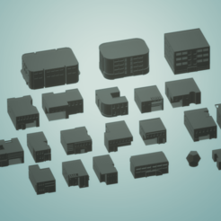 scifi.png Download STL file Battletech 3D Printable Scifi City • 3D printable model, gametree3dprint