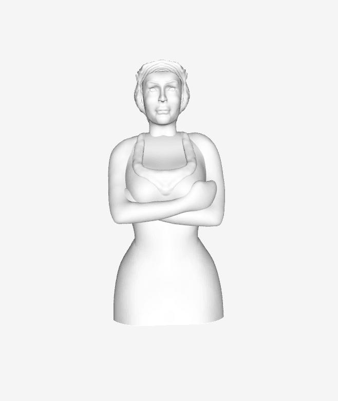 Capture d'écran 2018-02-05 à 12.59.10.png Download free STL file Shrek - Fiona Princess • 3D printing model, quangdo1700