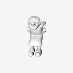 Free Gargamel 3D printer file, quangdo1700