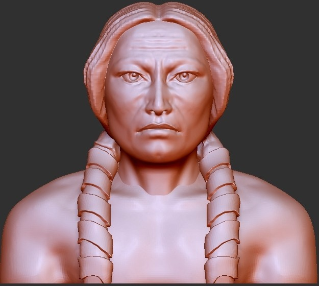 Crazy Horse.jpg Download free STL file Sculptures Figures Busts • 3D print model, quangdo1700