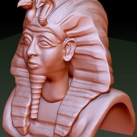 1c074851b23e5945b63577b2aa1ee1b3_display_large.jpg Télécharger fichier STL gratuit Roi d'Egypte Tut • Modèle pour impression 3D, quangdo1700