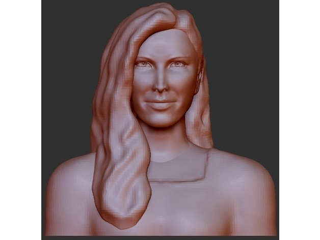 6fb9c059e1afd46b098a4bb737afbba5_preview_featured.jpg Download free STL file Wicked Witch - Rebecca Mader Remixed • Object to 3D print, quangdo1700