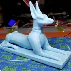 Download free 3D printing models Egypt - Anubis, quangdo1700