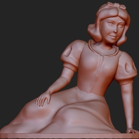 Download free 3D printer model Snow White, quangdo1700
