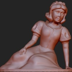 Free 3D model Snow White, quangdo1700