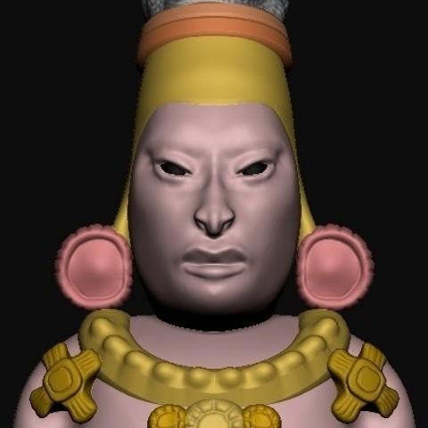 Download free 3D printer files Maya Elongated Skull, quangdo1700