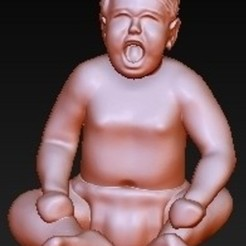 Free 3D printer model Baby Crying, quangdo1700