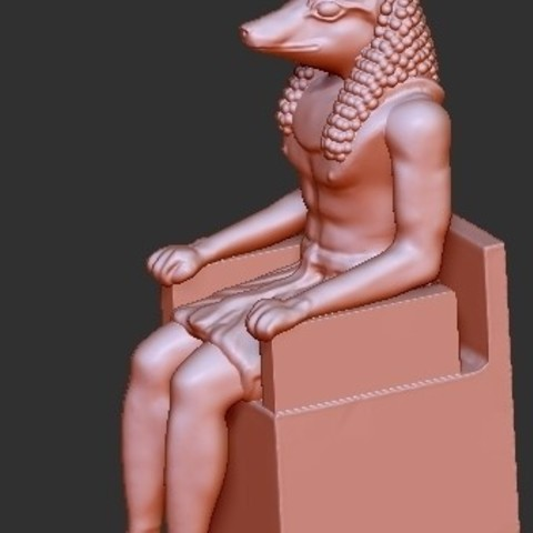 66b5d48be223a159681bc9f45f21a0e4_display_large.jpg Download free STL file Egypt God Anubis • 3D printing object, quangdo1700