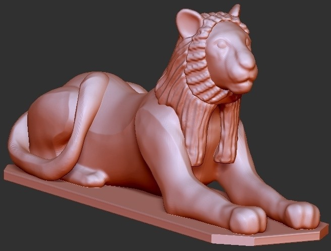 bc22a25528e627c7b963c76fa6d77e7a_display_large.jpg Download free STL file Egypt Lion Goddess • 3D print model, quangdo1700