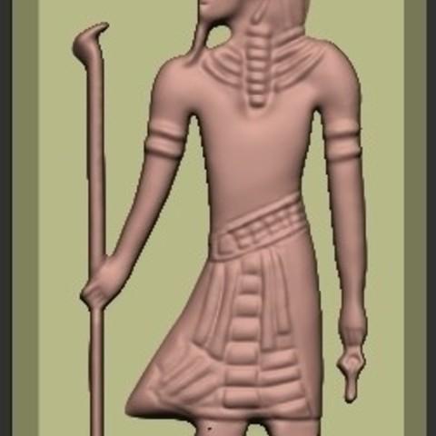 Free 3D printer files Egypt Pharaoh, quangdo1700