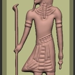 Free 3d printer files Egypt Pharaoh, quangdo1700