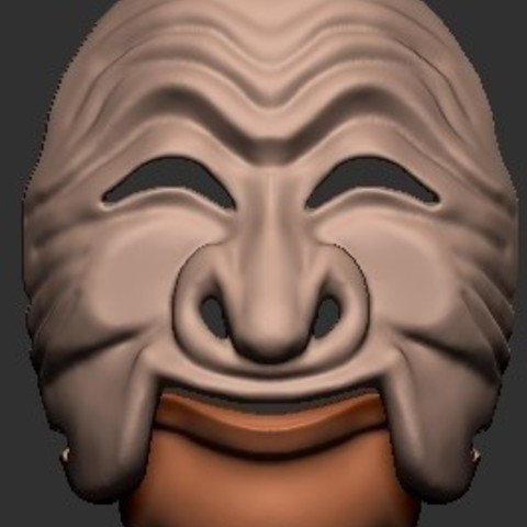 Free 3D printer designs Korean Masks, quangdo1700
