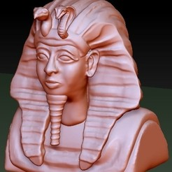 Free 3D printer designs Egypt King Tut, quangdo1700