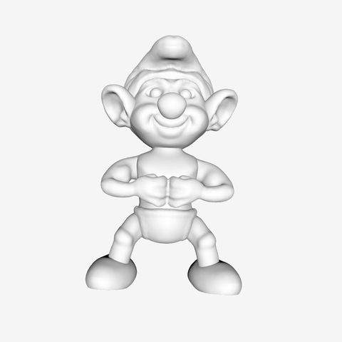 Download free STL Smurfs - Hefty, quangdo1700