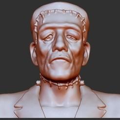 Modelos 3D para imprimir gratis Frankenstein - clásico, quangdo1700