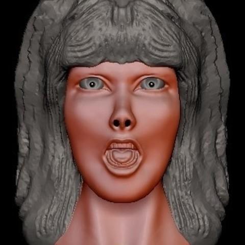 Free STL files Elvira, quangdo1700