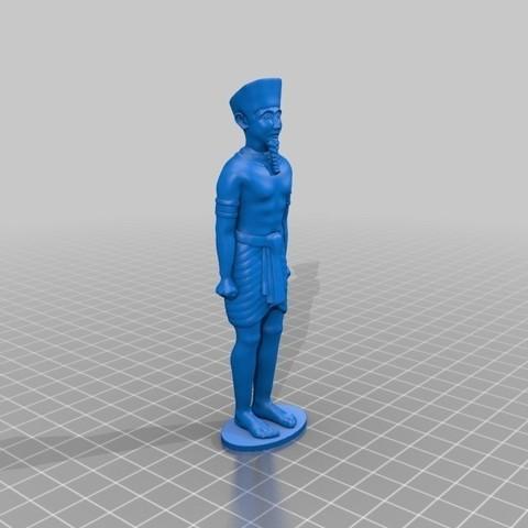 2d9ce354c579fd91977f3a52d8393c7d_display_large.jpg Download free STL file Egypt God Amun • 3D printable design, quangdo1700